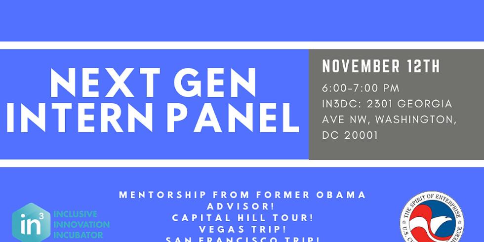 Next Gen Intern Panel