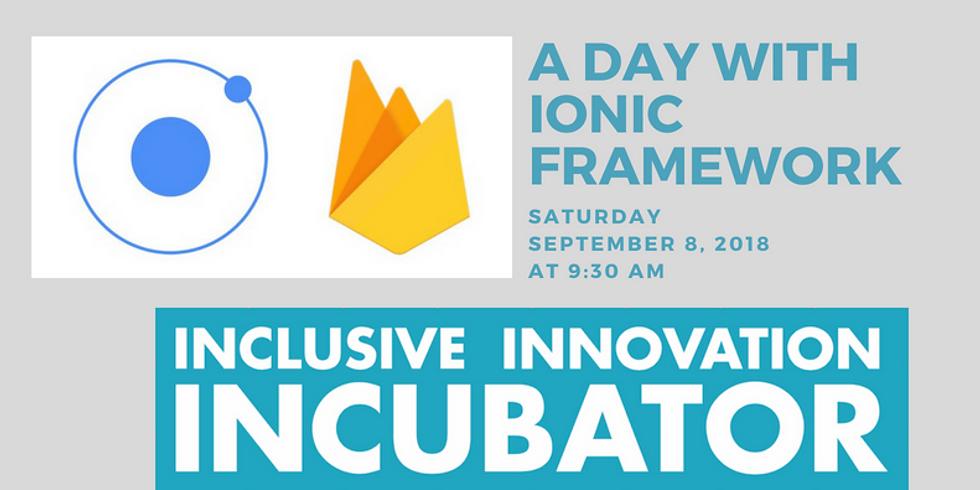 Ionic Framework One Day Workshop