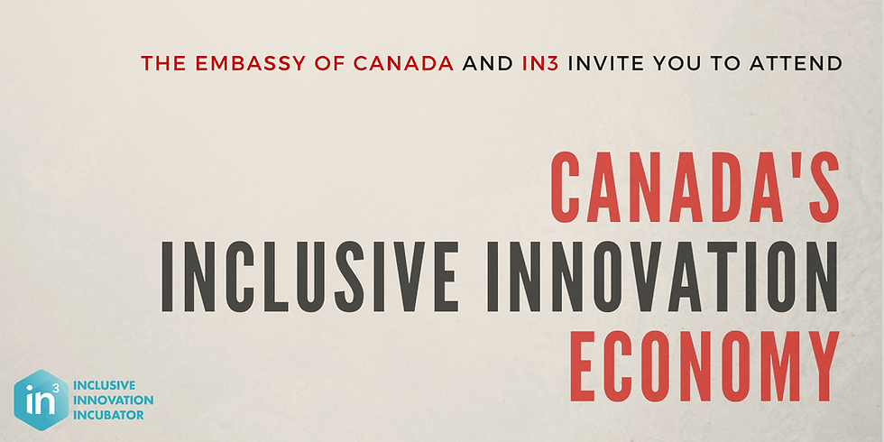 Canada's Inclusive Innovation Economy