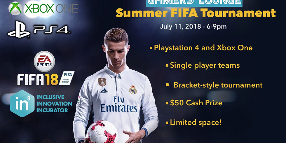 In3DC Gamers Lounge - FIFA Gaming Tournament