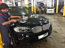 BMW X5 Cut n Polish