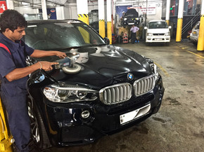 BMW X5 Cut n Polish