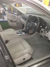 Mercedes E Class after an interior clean