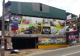 CARS Body Shop Kandy building