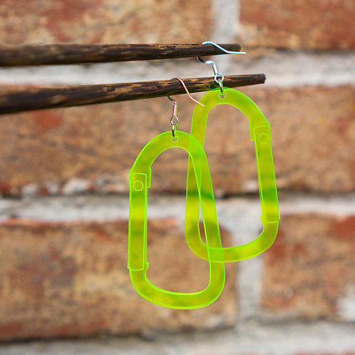 Carabiner Earrings by You Wu - Exhibition Limited Edition