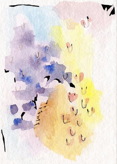 Insomnia Drawing 452 by Bonnie Crawford