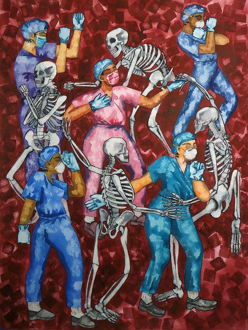 Danse Macabre by Liora Ostroff