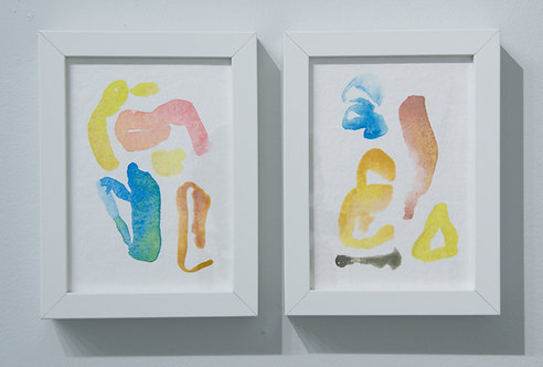 GG's Diptych by Lexie Mountain