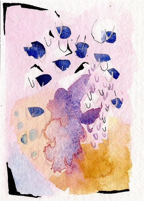Insomnia Drawing 457 by Bonnie Crawford