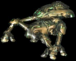 mech crawler - upside dash enemies