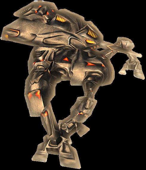 mech crawler - upside dash enemy