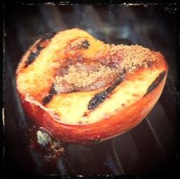 Grilled Colorado Peach