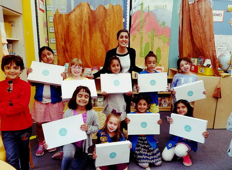 Spread the Joy Foundation Teams up with Princeton Girl Scouts!