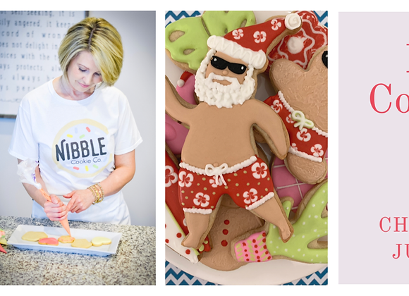 Virtual Cookie Class: Christmas in July