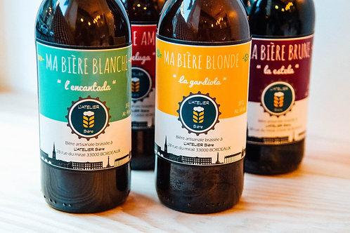 Pack de 3 bières artisanales