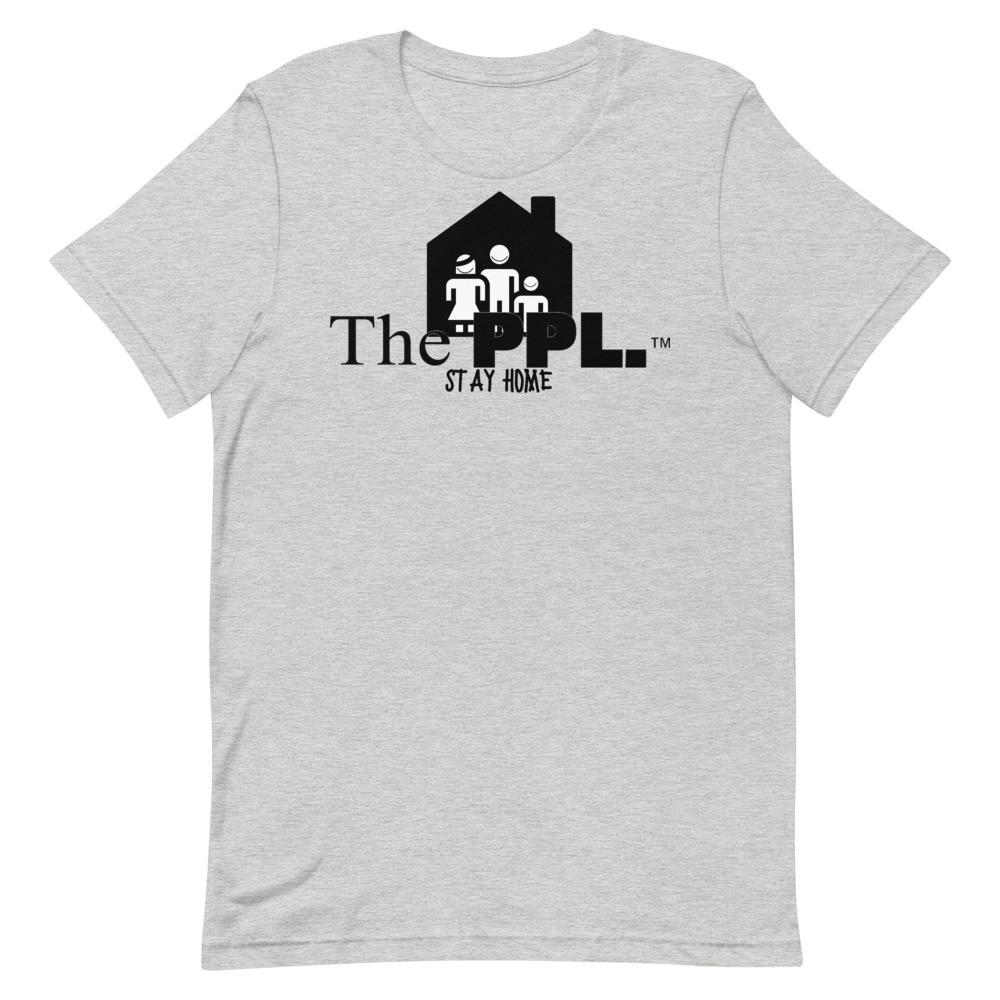 The PPL.™ T-Shirt flat layout mockup