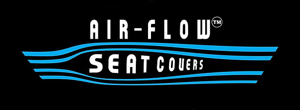 Air flow seat cover Logo