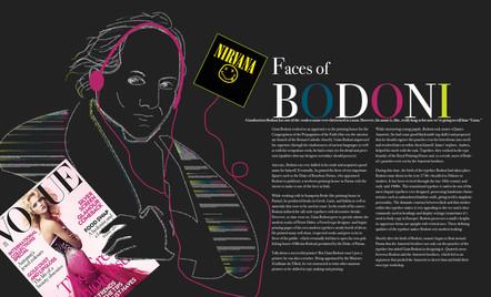 Faces of Bodoni