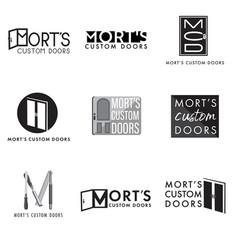 Mort's Custom Doors Logo Concepts