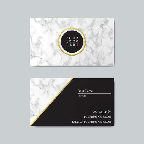 Geometric Business Cards Template