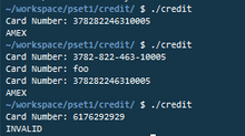 Validating Credit Card Information - Luhn's Algorithm.