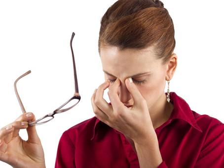 Tontura e dor de cabeça podem ocorrer pela troca dos óculos...
