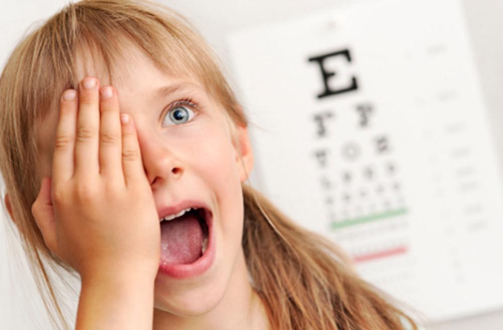exame visual crianças