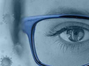 Usar óculos reduz em três vezes a possibilidade de contaminação pelo novo coronavírus