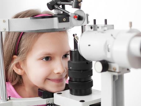 Você sabia que o primeiro exame de vista de ser realizado antes do primeiro ano de vida?