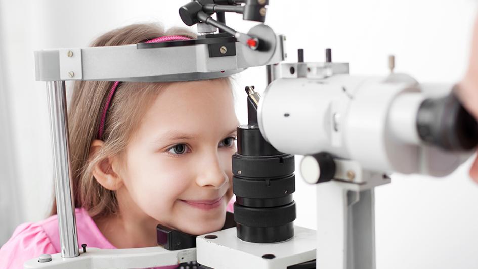 Criança - Exame de vista
