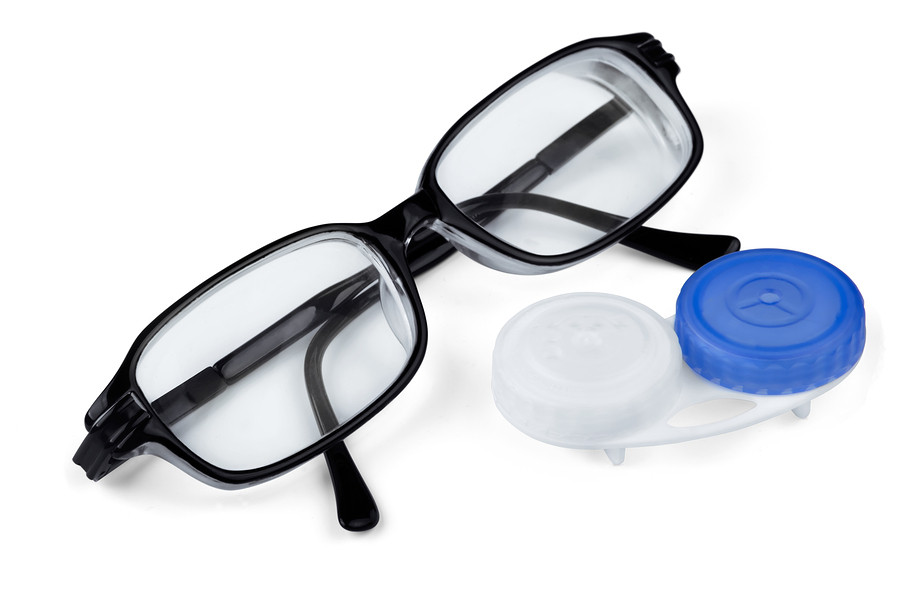 Lentes de Contato e óculos
