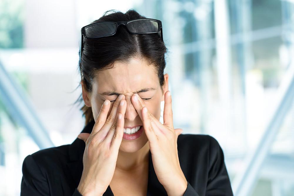 stress ocular