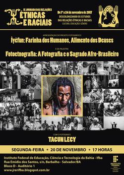IX Jornada das Relações Étnicas e Raciais [Cartaz Divulgação]