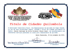 Quilombo Campo Grande