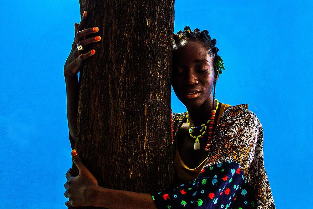 Fotografia de Luma Nascimento na Fundação Pierre Verger.