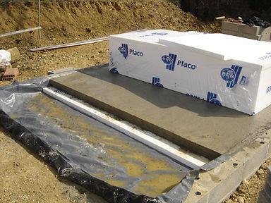 Insulation Concrete Oversite