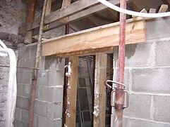 Form Concrete Lintel