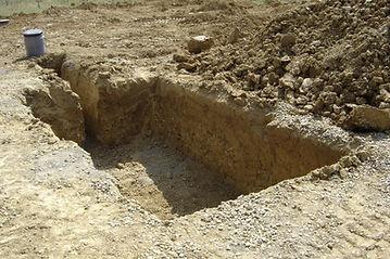 Excavation Septique tank