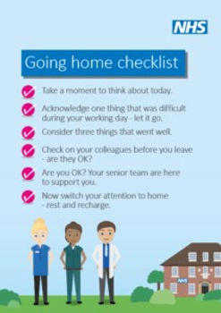 Supporting Staff Wellbeing graphic