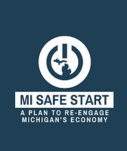 MI Safe Start: A Plan to Re-engage Michigan's Economy document