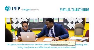 TNTP Teacher Talent Virtual Talent Guide