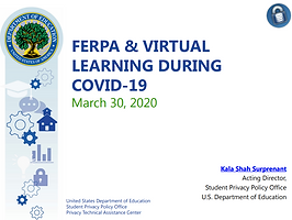 FERPA and Virtual Learning webinar slides