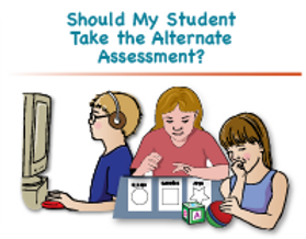 Should my student take the alternate assessment? graphic
