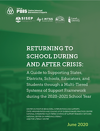 Returning to School During and After Crisis cover page