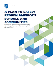 AFT Plan to Safely Reopen America's Schools document cover