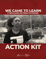 Cover of We Came to Learn Action Kit.