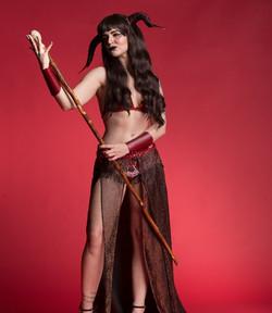 Xena Zeit-Geist as Demon Sorceress