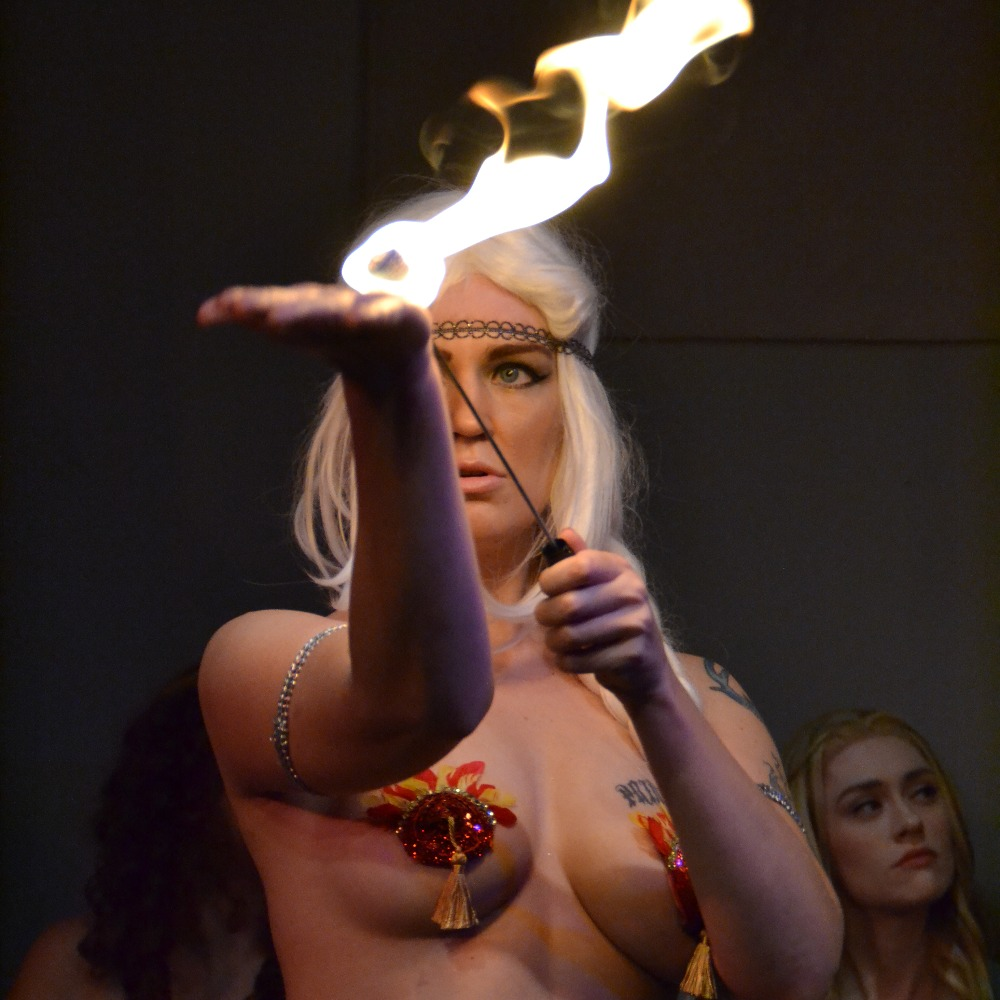Xena Zeit-Geist as Daenerys (GoT)