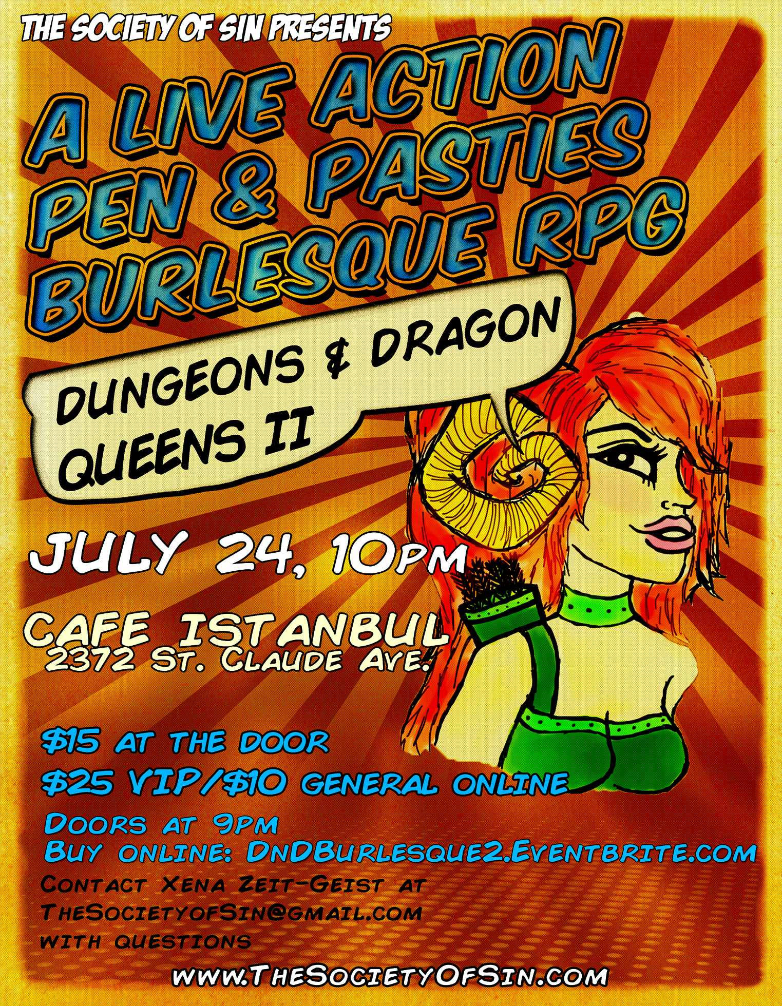Dungeons & Dragon Queens