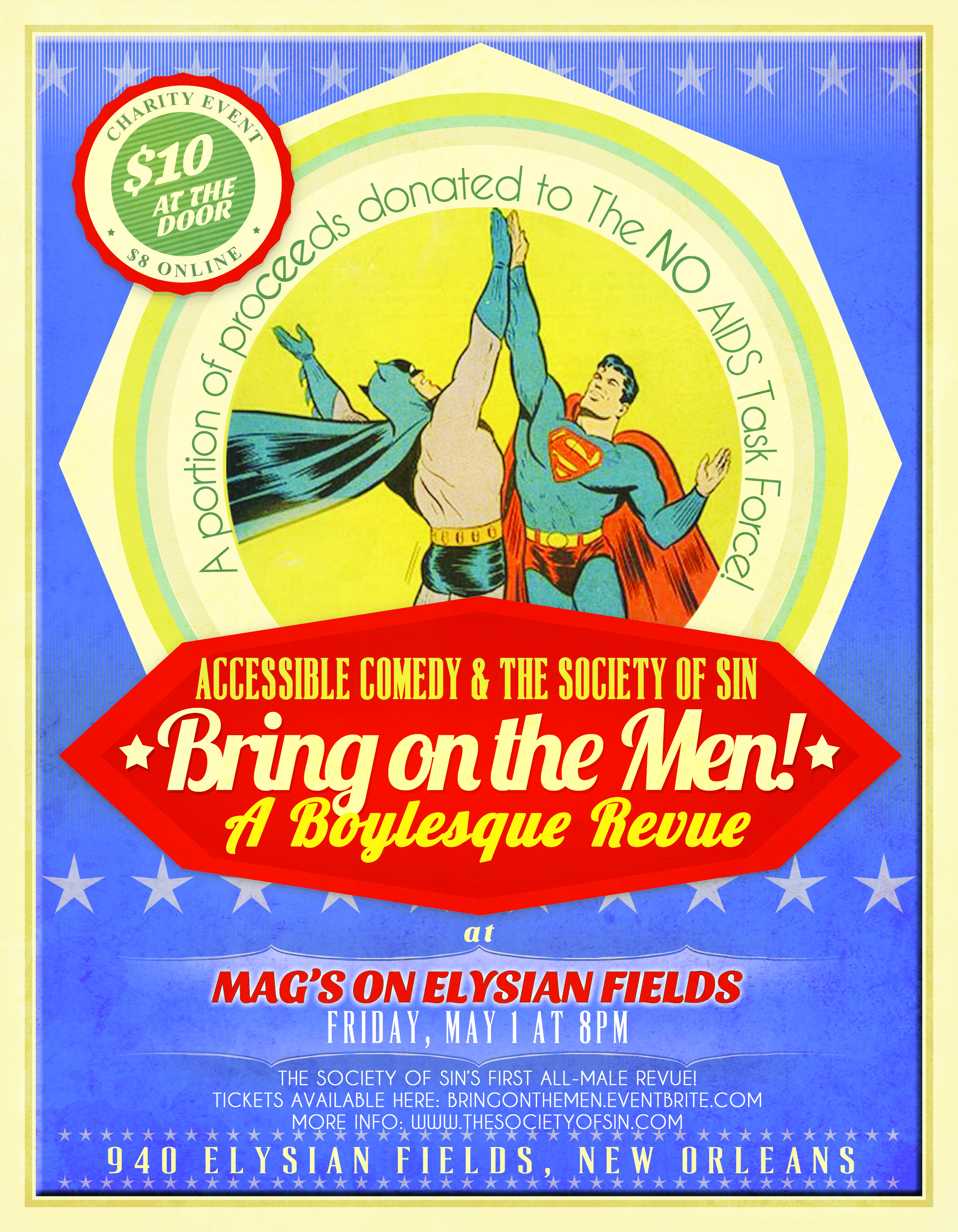Bring On The Men! A Boylesque Revue